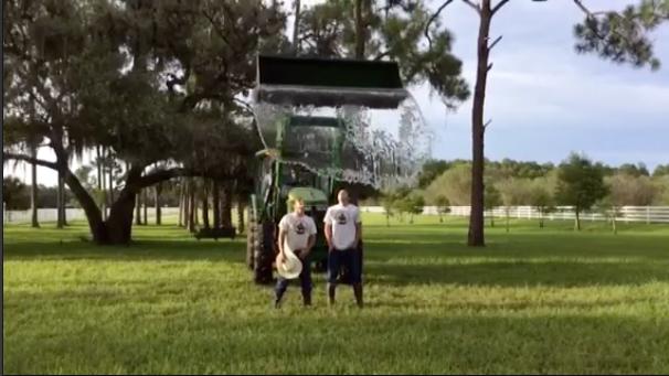 Ice Bucket challenge farm-style