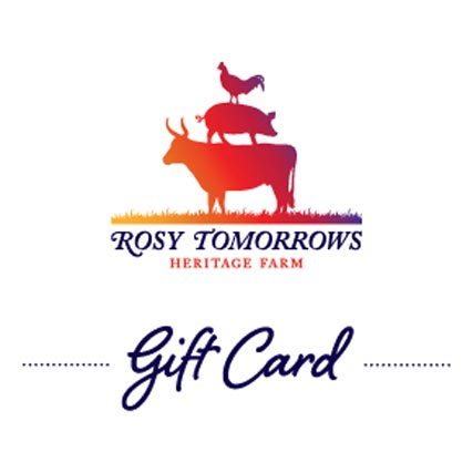 Buy your gift cards online or at the farm
